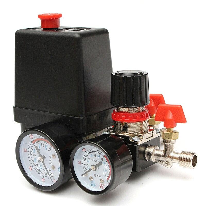 120psi воздушный компрессор давление клапан переключатель коллектор рельеф регулятор датчики аксессуары для освещения переключатели|Выключатели|   | АлиЭкспресс