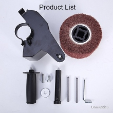 Electric Angle Grinder Polishing Attachment Accessories Metal Steel Wood Sander M10/M14 Metal+Nylon Burnishing Machines