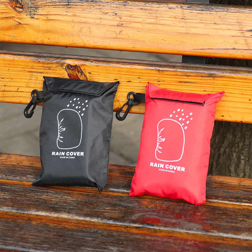 Outdoor Organizer Travel Cosmetische Tas Rugzak Regenhoes Draagbare Waterdichte anti-scheur Stof Uv Trekkoord Opslag