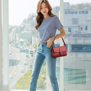 Image 5 - 2019 女性レザーハンドバッグ高品質メインクロスボディ女性メッセンジャーバッグヴィンテージレザーフラップバッグ新しい