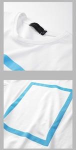 Image 5 - Kuegou 2020 verão algodão imprimir branco t camisa dos homens tshirt marca camiseta manga curta camiseta roupas de moda mais tamanho superior 1613
