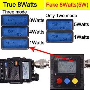 Image 2 - 2 adet Baofeng UV 5R 8W Walkie Talkie UV5R CB radyo istasyonu 10KM VHF UHF Dual Band UV 5R iki yönlü telsiz avcılık için Ham radyolar