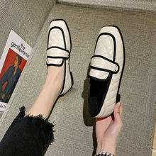Small leather shoes women's British 2020 spring new Korean v