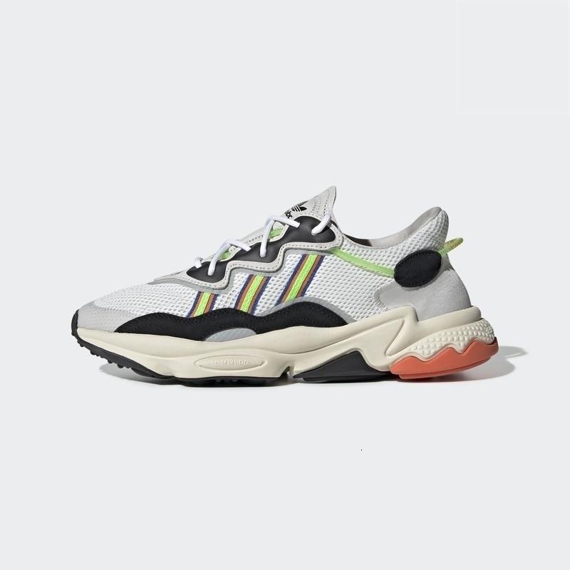 Adidas Ozweego hommes et femmes chaussures classiques chaussures de course confortable sneaker original # EF9627