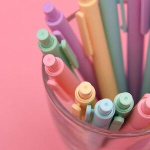 Image 4 - 5 unidades/pacote youpin kaco 0.5mm assinar caneta de assinatura caneta de tinta lisa escrevendo durável assinando 5 cores para estudante escola/escritório trabalhador