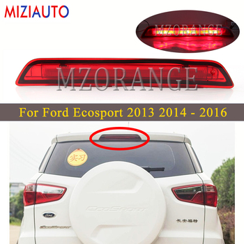 new 3d floor mats for ford ecosport 2014 2015 2016 element carfrd00025k delivery from russia High mount Brake Lights For Ford Ecosport 2013 2014 2015 2016 Rear Stop Third Brake Light All for car Accessories Bumper lamp