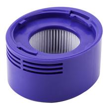 Vacuum Cleaner Foam Filter ABS Plastic Filtration Replacement Element for Dyson V7 V8 Vacuum Cleaner 1 set vacuum cleaner foam