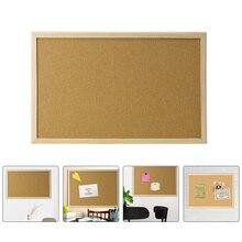 Durable Cork Bulletin Board Notice Board Cork Display Board Framed Cork Board