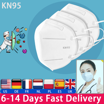 KN95 Mouth Mask High Quality PM2.5  Anti-dust Activated Carbon Anti Dust Face Mask Anti Cough Flu Respirators Ffp3 Ffp2 N95 safe