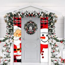 New year 2022 Christmas Door Banner Christmas Decorations for Home Christmas ornaments Pendants Christmas goods Xmas Gifts kerst
