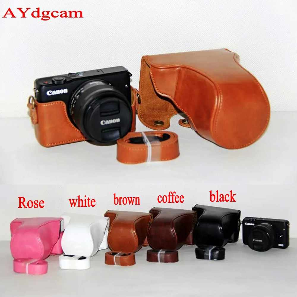 Nice Camera Video Bag For Canon EOSM10 EOS M10 EOS M100 EOS M200 Camera case Protective Body Cover Skin