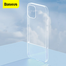 Baseus Thin Clear Transparent Phone Case For iPhone 12 Pro Max Xs X Xr Coque Soft TPU Cover For iPhone 12 Mini 12pro max 11 Case