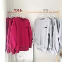 Новинка; Модные свободные свитера с круглым вырезом для девочек;