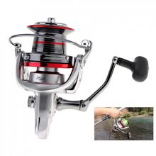 Full Metal Spinning Fishing Reels 9000 Series 14+1 Ball Bearing 20KG / 44LB Long Distance Surfcasting Wheel with Larger Spool