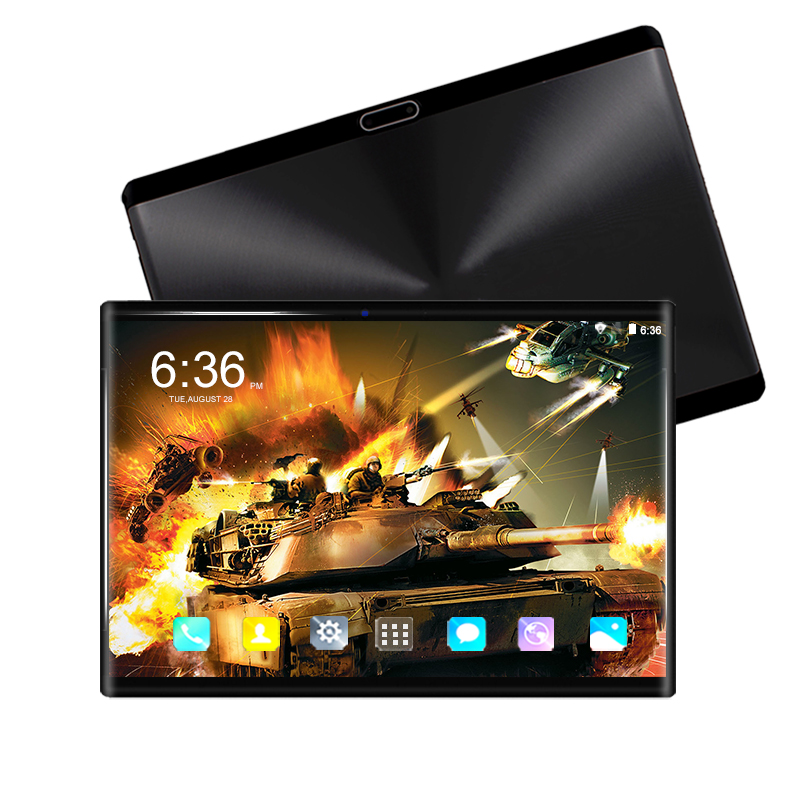 6+128GB Android 9.0 Tablet PC 10 Inch Google Store Octa Core 3G 4G LTE Smart Phone 1280*800 IPS WIFI Android 9 Tablets 10.1+Gift