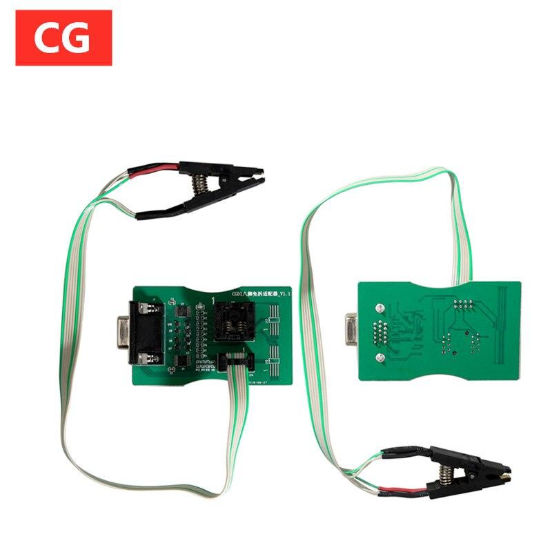 Адаптер для чтения с 8-футовым чипом, без зажима, с CGDI Prog для BMW и XPROG 5,60/5,74 и UPA USB ECU Программатор
