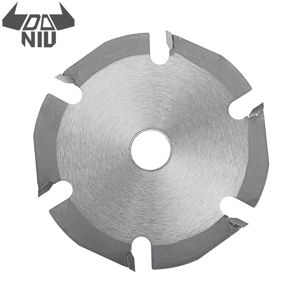 DANIU 125mm 6 Teeth Circular Saw Blade Carbide Tipped Wood Carving Cutting Disc For Angle Grinders Tool