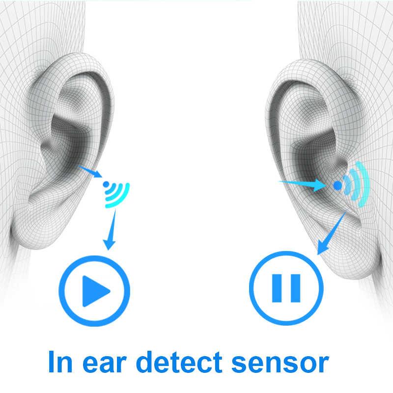 Оригинальные i9000 TWS 1:1 наушники-вкладыши H1 Aire 2 Bluetooth наушники мини беспроводные наушники-вкладыши Aire2 гарнитура PK W1 чип elari kulagli