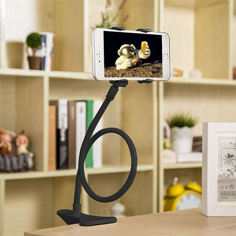 Flexible Mobile Phone Stand Holder Universal Lazy Bracket Car Bed Desk Holder For IPhone Samsung Huwei