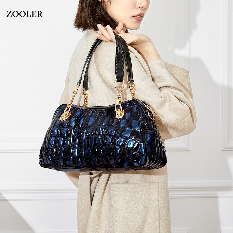 ZOOLER marque sacs en cuir femmes vache cuir sac à main femme épaule Messenger sacs 2019 nouveau sac à main grand fourre-tout qualité # wp132