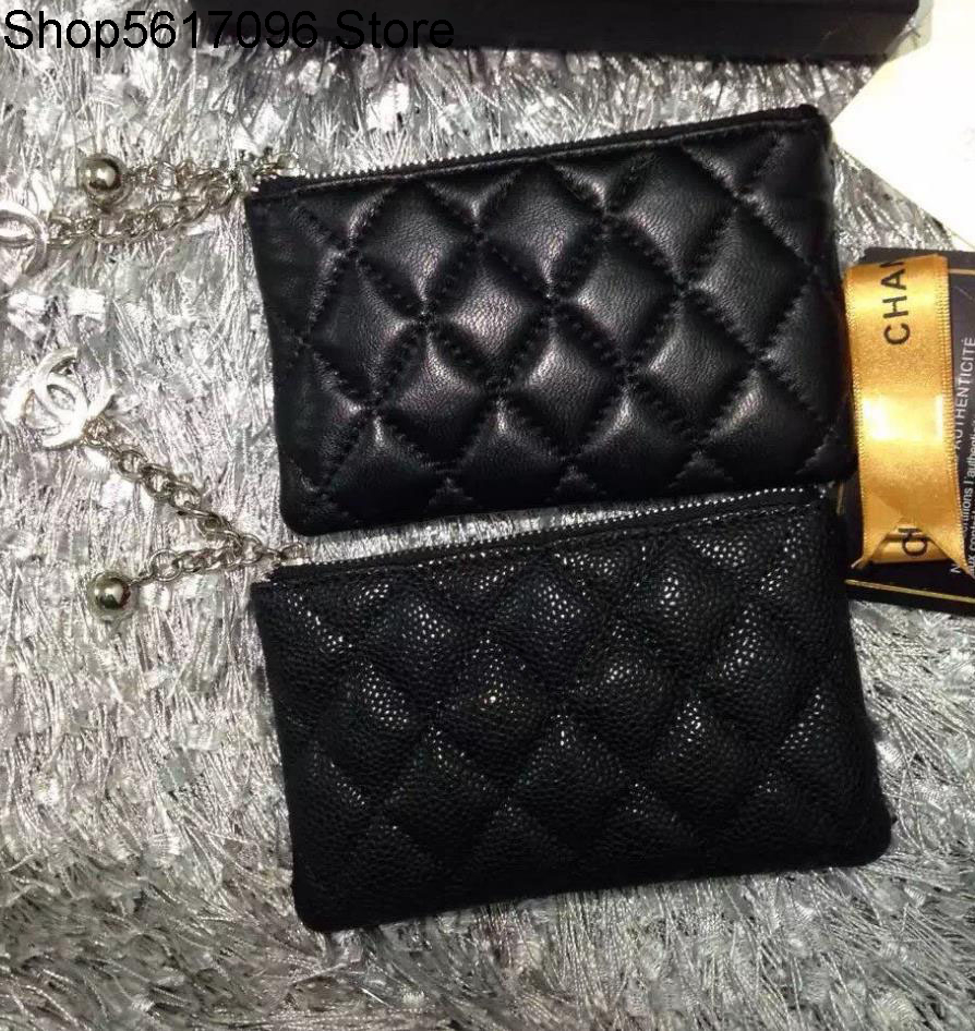 2020 Famous Luxury Brand Ladies wallet womens wallet Genuine Leather with box 14.5*9 cm