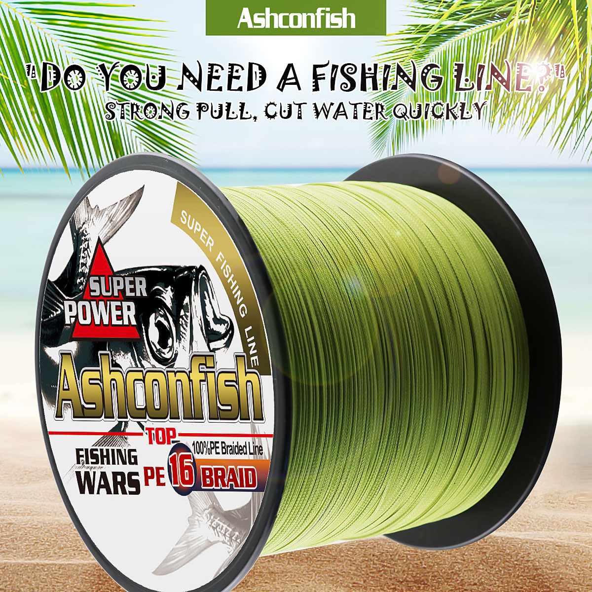 Super hollowcore braided fishing line 1500M 16 Strands pe super Ocean Fishing braided wires 20 500LBS leader line 0.16 2.0mm - 2
