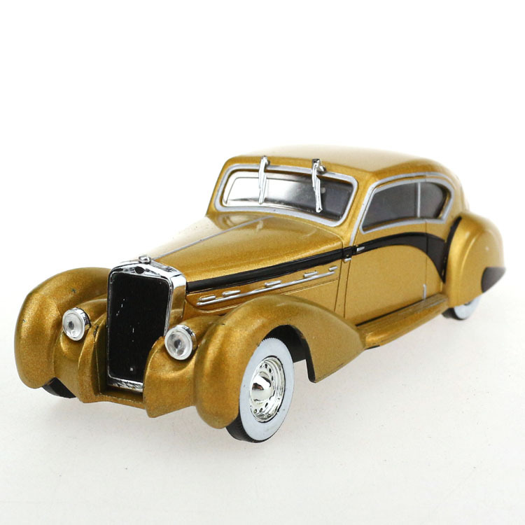 [20144 New Style Listing] Delage D8120-1937 Alloy Vintage Car Model