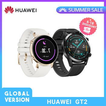 Huawei GT2 GT 2 reloj inteligente versión Global 42mm Reloj GPS impermeable Bluetooth para Android iOS corazón doble pulso