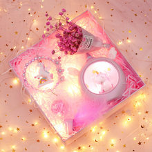 INS Wind Souvenir Women's Marriage Small Gift Online Celebrity Unicorn Star Lights SAKURA Gift Box Finished Product Birthday(China)
