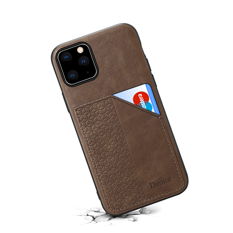 Luxury Leather Card Holder Case for iPhone 11/11 Pro/11 Pro Max 15