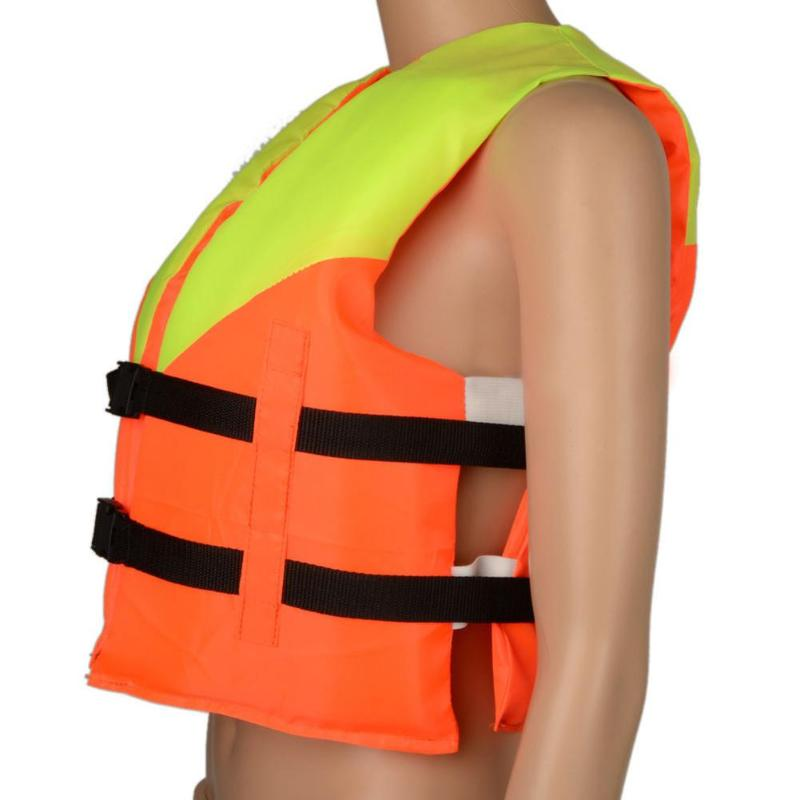 Youth Kids Universal Polyester Life Jacket Swimming Boating Ski Vest Life Vest Jacket With Whistle Water Sports Safet
