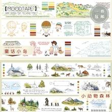 Moodbar اشي الشريط الغابات الحيوان حكاية خرافية طفل سكرابوكينغ الألبوم لتقوم بها بنفسك اليدوية لاصقة تزيين شريطٌ لاصق ورقة
