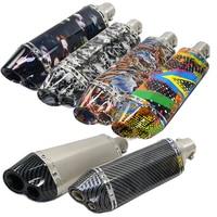 For ak yoshimura exhaust motorcycle muffler pipe for VESPA GTS300 946 LX150 piaggio mp3 acerbis ybr pcx nmax 125 cbr125
