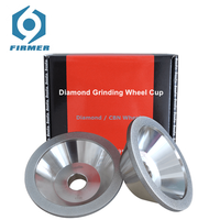 Diamond Grinding Wheel Disc Pads IDxOD 20x100 mm Cutter Grinder CBN Wheels Abrasive Tools For Grinding Tungsten Steel Tool Rods