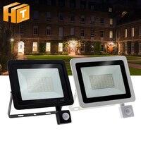 LED Flutlicht PIR Motion Sensor LED Flutlicht IP66 Wasserdichte Außen Beleuchtung.