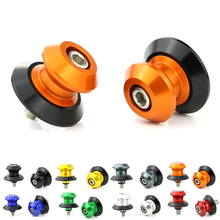 For KTM RC8 Motorcycle CNC Aluminum Alloy Swingarm Spools Sliders Stand Bobbins Screws