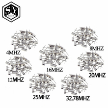 Quartz Resonator Electronic-Kit Hc-49s 12-16 20-25-Mhz 5pcs 4-8 7-Kinds Dip Ceramic X