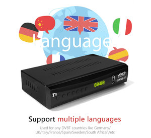 Image 5 - 2020 החדש DVB T3 DVB T2 terrestrial מקלט HD 1080P טלוויזיה טיונר DVB T2 מפענח H.265 תמיכה youtube USB WIFI דיגיטלי מקלט
