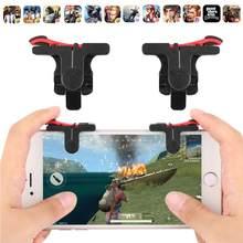 D9mobile controlador de jogo gamepad plástico l1r1 keypads telefone joystick sensível atirar e mirar aciona controlador móvel para pubg