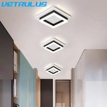 Nuevas luces modernas de pasillo, lámparas Led, modernas lámparas minimalistas creativas de porche, luces de entrada, iluminación de balcón para el hogar