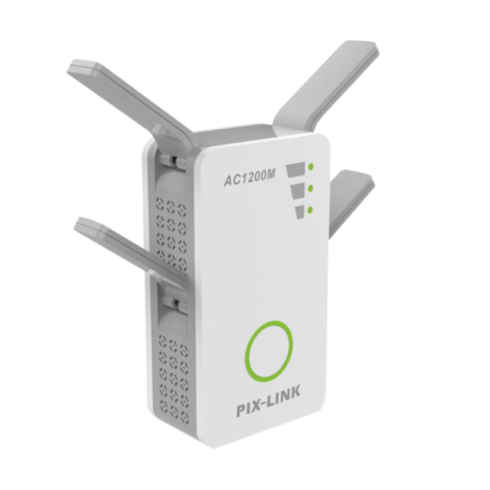 1200Mbps Dual-Band 2.4/5G 4 Antenna WIFI Repeater Range Extender WiFi Repeater Wireless Wi-Fi Router Home Office Network Apply