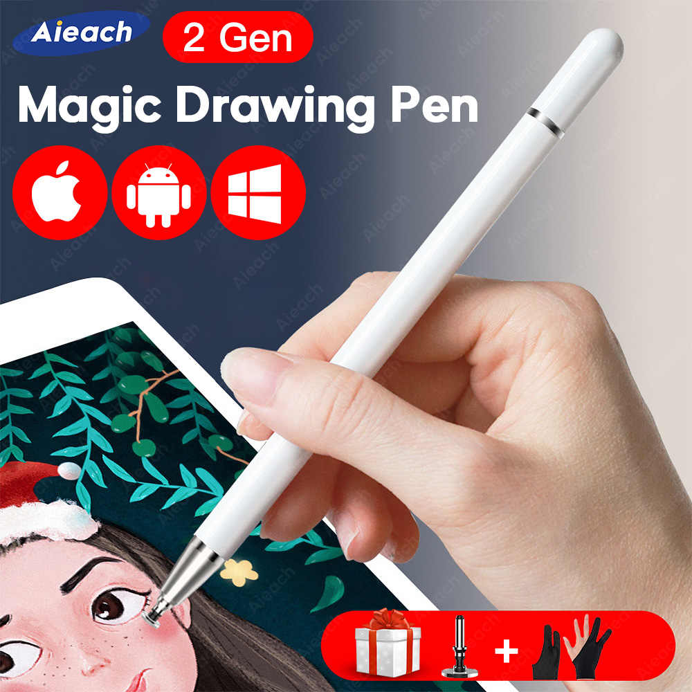 Universal Smartphone Pena Stylus Android IOS Lenovo Xiaomi Samsung Tablet Pen Touch Screen Menggambar Pena Stylus iPad iPhone