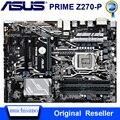 Материнская плата Asus PRIME Z270-P Intel Z270 LGA 1151 DDR4 64 Гб PCI-E 3,0 оригинальная настольная Z270 материнская плата DDR4 Core i7/i5/i3 1151