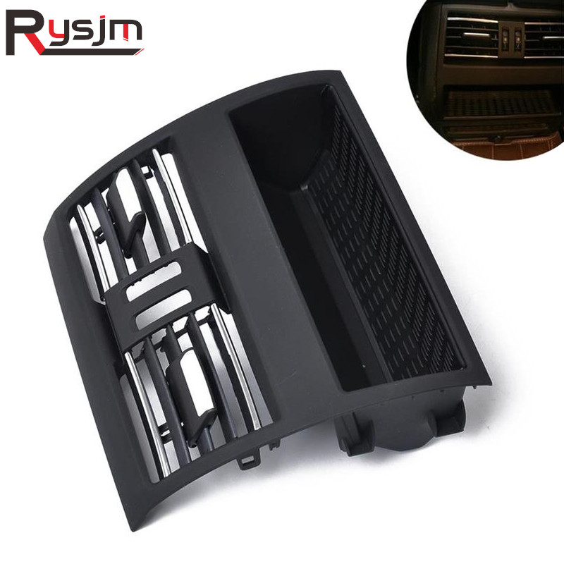 For LHD BMW F10 F11 Rear Row Air Conditioning Grille Upgraded Replacement Interior Air Outlet Vent Panel Cover AC Ventilation for BMW 5 F10//F11 2010-2016