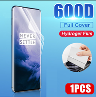 Protector de pantalla de cobertura completa para Oneplus 7, 8 Pro, 5, 6T, 6, 5T Pro, película de hidrogel para Oneplus 7T, película protectora, no cristal