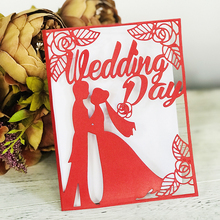 Rose Couple Dies Metal Cutting New 2019 for Card Making Scrapbooking Wedding invitation Craft Die Cut DIY Home Decorative