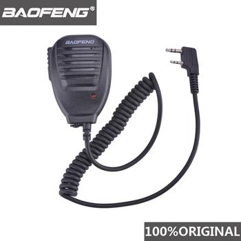 100% Original BaoFeng Walkie Talkie 50km Microphone Speaker For Baofeng UV-5R BF-888S Midland Radio Communication  Accessories 1