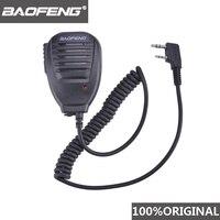 BaoFeng-Walkie Talkie 100%, altavoz con micrófono de 50km para Baofeng UV-5R, accesorios de comunicación de Radio Midland