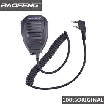 100% Original BaoFeng Walkie Talkie 50km Microphone Speaker For Baofeng UV-5R BF-888S Midland Radio Communication  Accessories