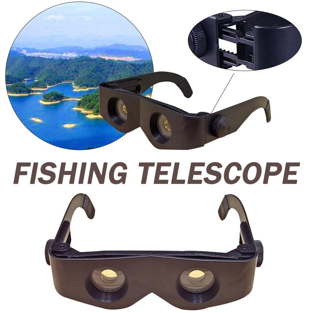 Lightweight Binocular Glasses 6x Magnification Clear Outdoor Hands-free Binocular For Fishing Hiking Bird Watching